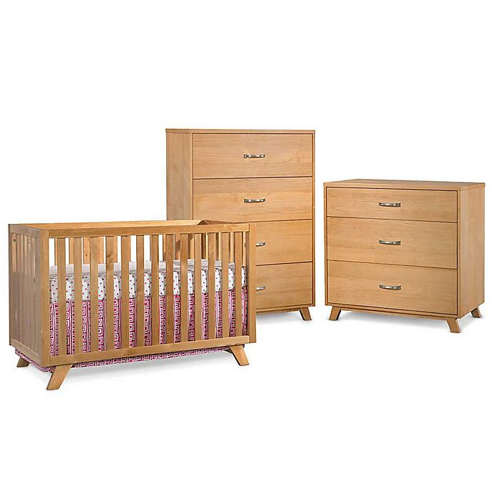 Child Craft Soho Nursery Furniture Collection In Natural