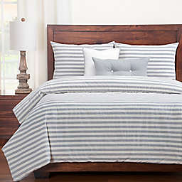SISovers® Farmhouse Full Duvet Cover Set in Grey/White