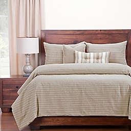 Siscovers® Modern Farmhouse Twin Duvet Cover Set in Tan