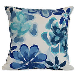 E by Design Ani Floral Square Throw Pillow