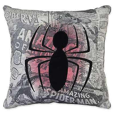 Marvel® Spiderman Comic Group Throw Pillow