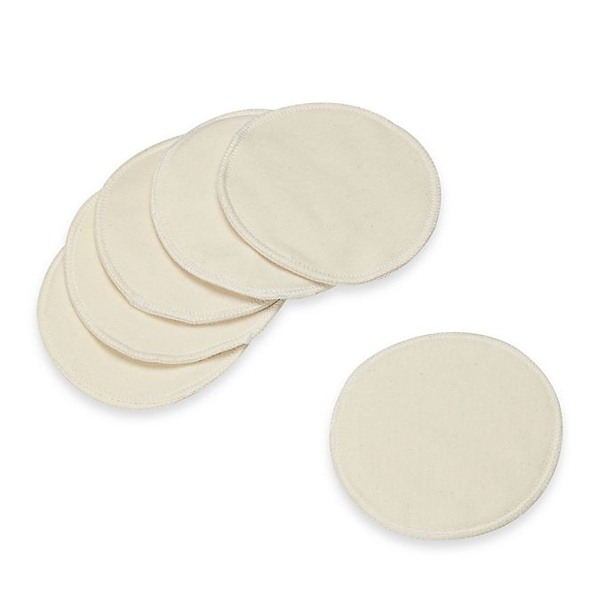 Alternate image 1 for Organic Cotton Nursing Pads (Set of 6)