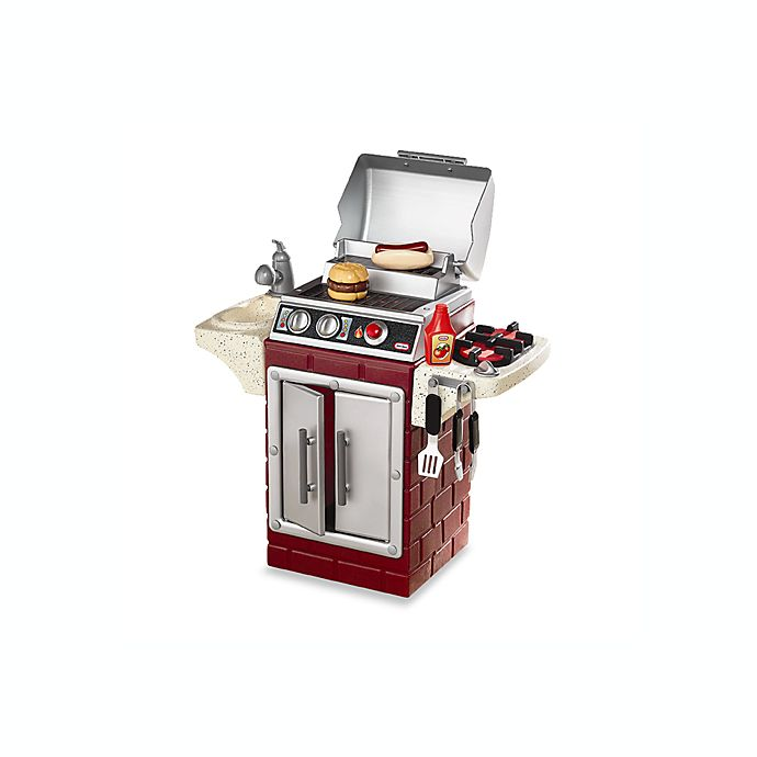 Little Tikes® Get Out 'N Grill Play Backyard Barbecue Set ...