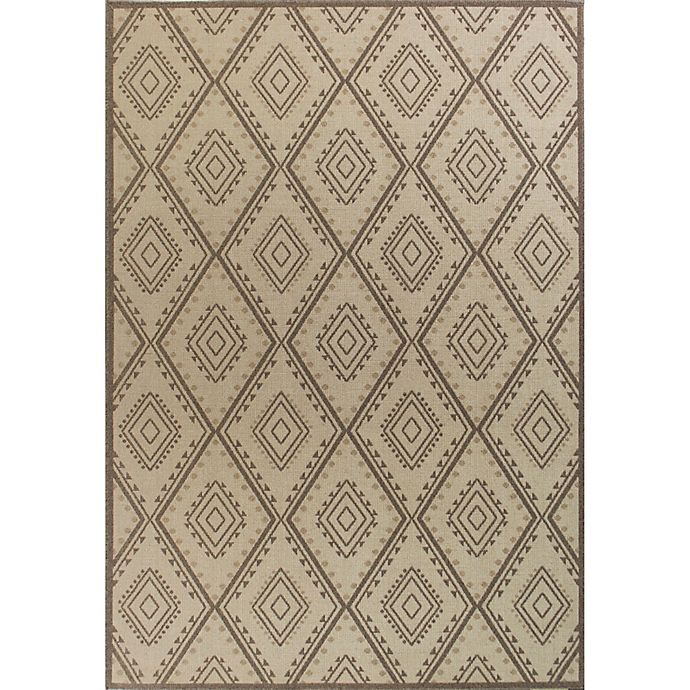 Alternate image 1 for KAS Tahoe Bungalow 9-Foot 10-Inch x 13-Foot 2-Inch Area Rug in Ivory