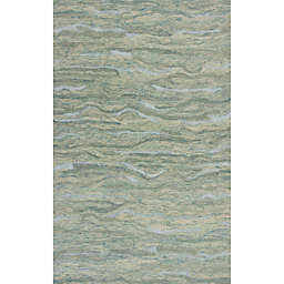 KAS Serenity Breeze Area Rug in Seafoam