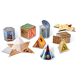 Learning Resources® Real World Folding Geometric Shapes