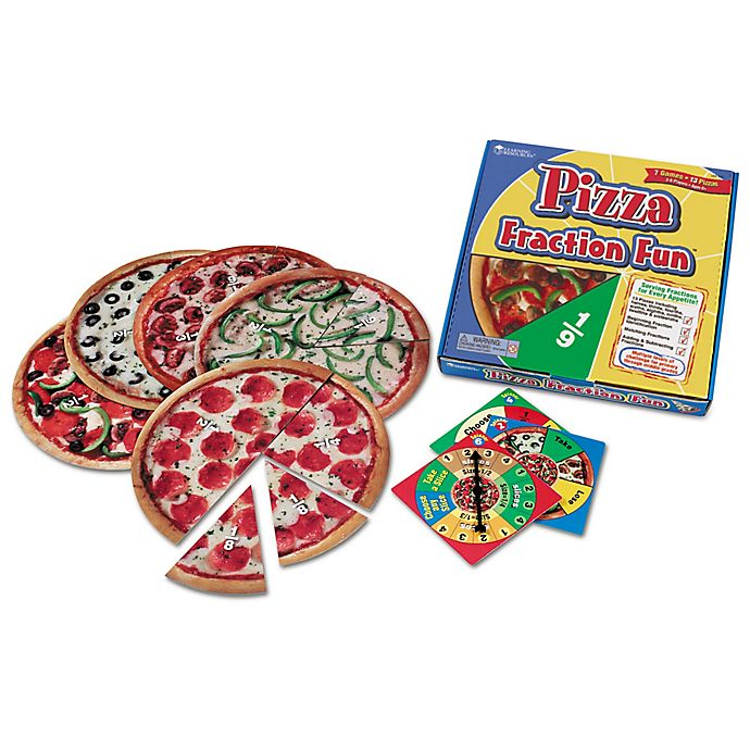 Alternate image 1 for Learning Resources® Pizza Fraction™ Fun