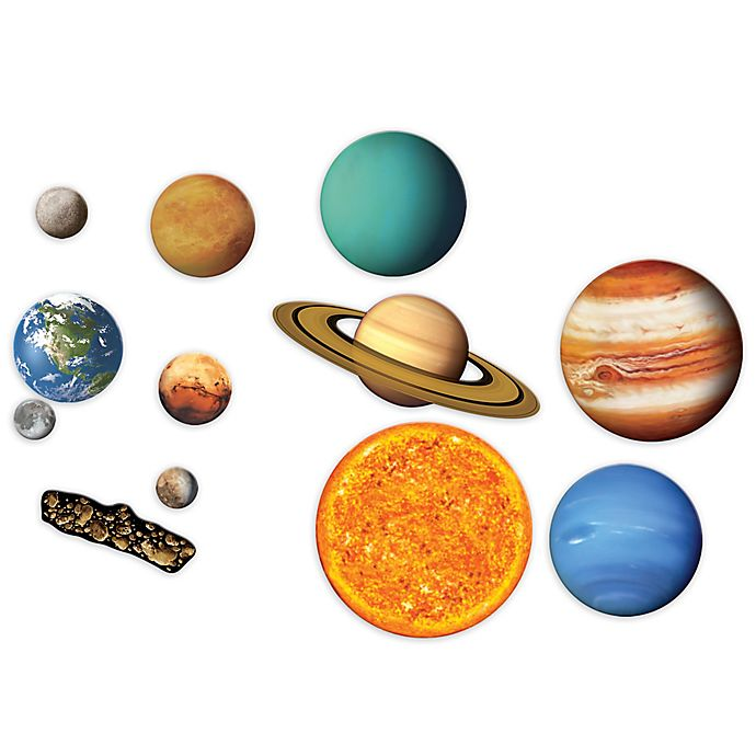 Alternate image 1 for Learning Resources® 13-Piece Giant Magnetic Solar System Set