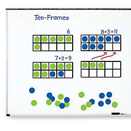 Learning Resources® 45-Piece Giant Magnetic Ten-Frame Set