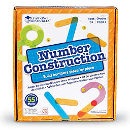 Learning Resources® 55-Piece Number Construction Activity Set