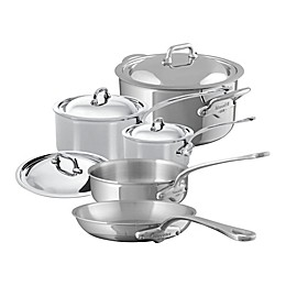 Mauviel 1830® M'cook 9-Piece Stainless Steel Cookware Set