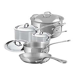 Mauviel M'cook Stainless 9-Piece Cookware Collection
