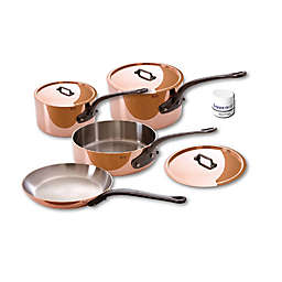 Mauviel 1830® M'250C Copper and Stainless Steel 7-Piece Cookware Set
