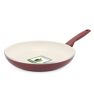 GreenPan™ Rio 12-Inch Ceramic Nonstick Fry Pan in Burgundy