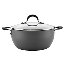 Circulon® Momentum™ Hard Anodized Nonstick 4.5 qt. Covered Casserole