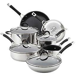 Circulon® Momentum™ Stainless Steel Nonstick 11-Piece Cookware Set