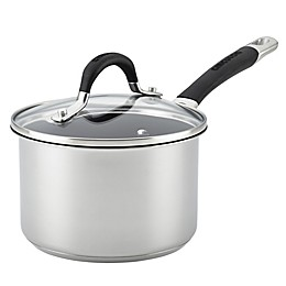 Circulon® Momentum™ Stainless Steel Nonstick 2 qt. Covered Saucepan