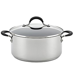 Circulon® Momentum™ Stainless Steel Nonstick 5 qt. Covered Dutch Oven