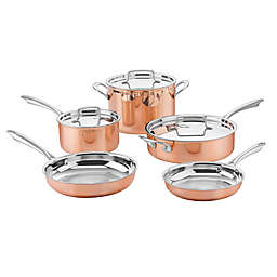 Cuisinart® Tri Ply Stainless Steel 8-Piece Cookware Set in Copper