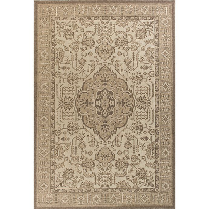Alternate image 1 for KAS Tahoe Morrocco 7-Foot 10-Inch x 10-Foot 10-Inch Area Rug in Ivory/Beige