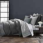 Wamsutta® Vintage Cotton Cashmere King Duvet Cover in Charcoal