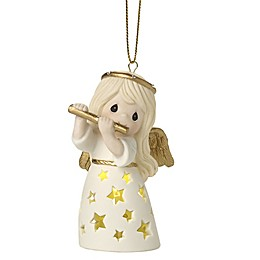 Precious Moments® Make a Joyful Noise Lighted Christmas Ornament