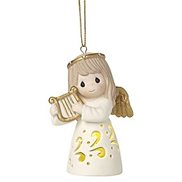 Precious Moments® Make Sweet Melody Lighted Christmas Ornament