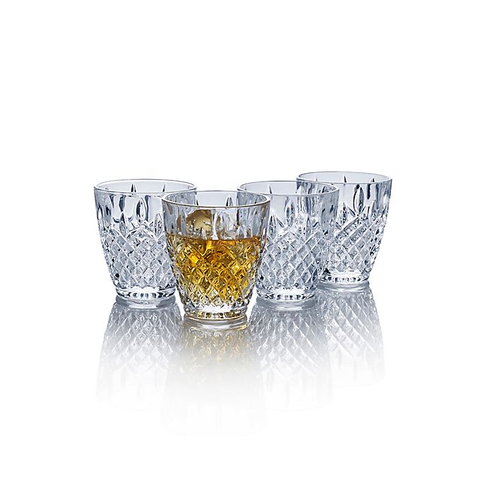 Alternate image 1 for Mikasa® Harding Double Old Fashioned Glasses (Set of 4)