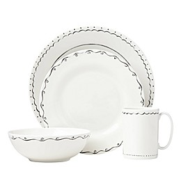 kate spade new york Union Square™Doodle 4-Piece Place Setting