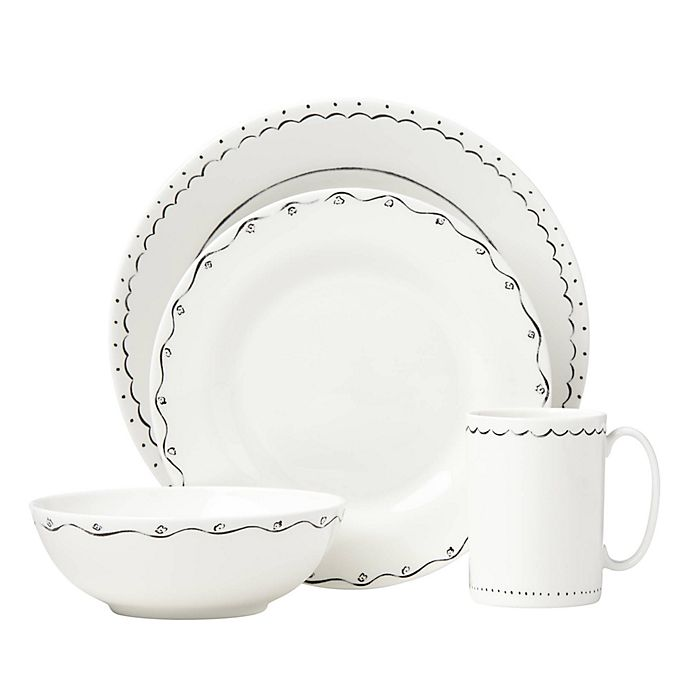 Alternate image 1 for kate spade new york Union Square™ Doodle Dinnerware Collection