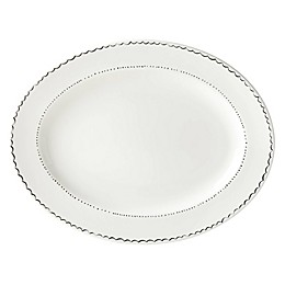 kate spade new york Union Square™ Doodle 16-Inch Oval Platter