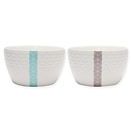 Multiple Choice Marquise Serving Bowls (Set of 2)