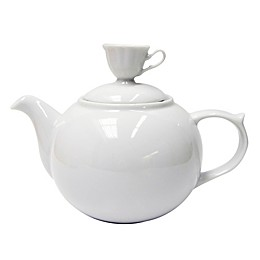 Multiple Choice White Mini Cup Medium Teapot
