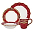 Part of the Fitz and Floyd® Renaissance Holiday Dinnerware Collection