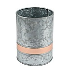 Thirstystone® Galvanized Steel and Copper Utensil Crock
