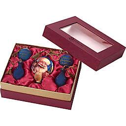 Ne'Qwa 5-Piece Santa Ornament Gift Set