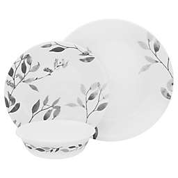 Corelle® Misty Leaves 12-Piece Dinnerware Set