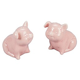 Bia Cordon Bleu Pig Salt & Pepper Set in Pink