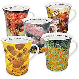 Konitz Les Fleurs Chez Les Peintres Mugs (Set of 5)
