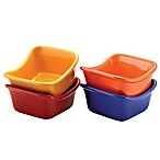 Rachael Ray™ Stoneware 4-Piece Lil' Saucy® Squares Set in Multi