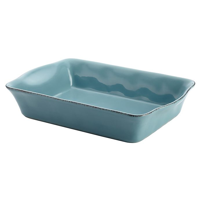 Alternate image 1 for Rachael Ray™ Stoneware 9-Inch x 13-Inch Rectangular Baker in Agave