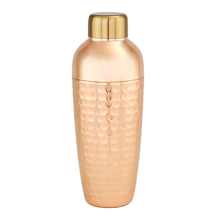 Alternate image 1 for Old Dutch International Aura Hammered Copper Cocktail Shaker