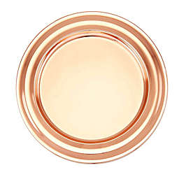 Old Dutch International Copper Charger Plates with Collar Rim (Set of 6)