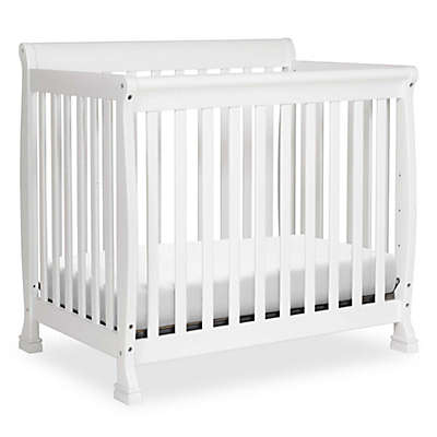 DaVinci Kalani 2-in1 Convertible Mini Crib in White