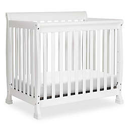 DaVinci Kalani 4-in1 Convertible Mini Crib in White