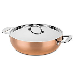 MEPRA Toscana Copper Fry Pan with Lid