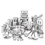 Old Dutch International 36-Piece Stainless Steel  Kitchen-In-A-Box  Cookware Set