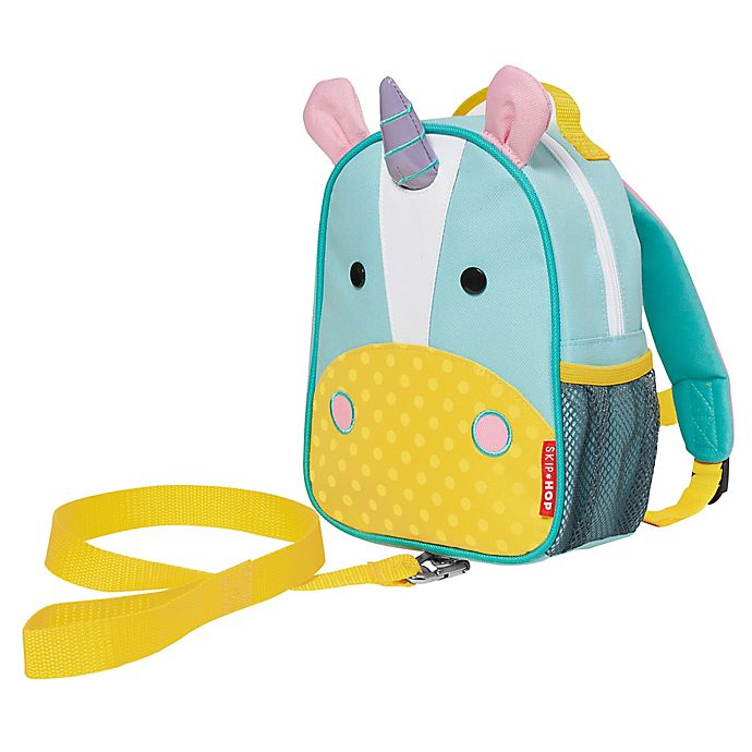 Alternate image 1 for SKIP*HOP® Unicorn Zoo Safety Harness Backpack
