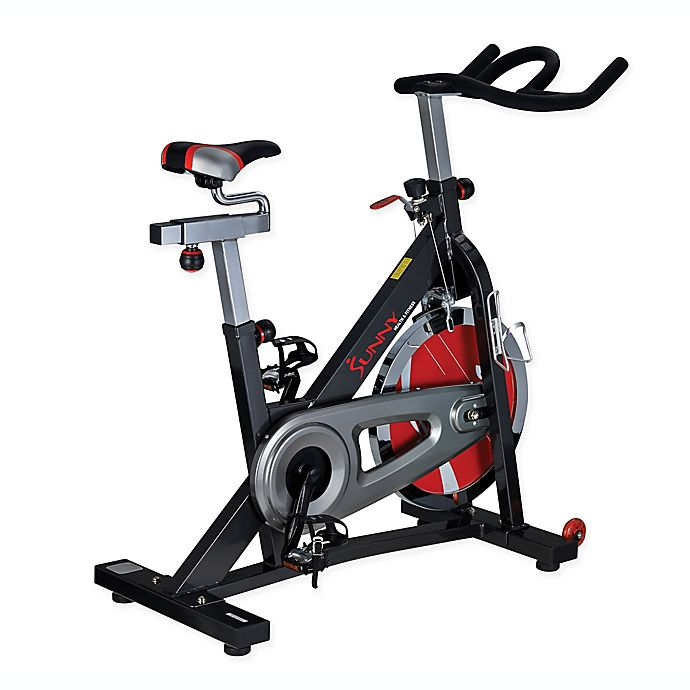 Alternate image 1 for Sunny Health & Fitness® Indoor Cycling Bike in Grey