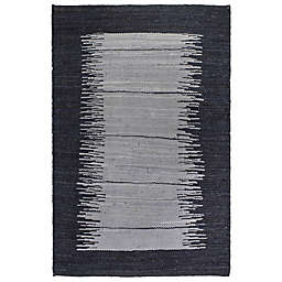 Fab Habitat Bryce 5-Foot x 8-Foot Area Rug in Charcoal